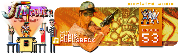 Pixelated Audio - Video Game Music podcast and Retro Gaming Chris Huelsbeck Jim Power